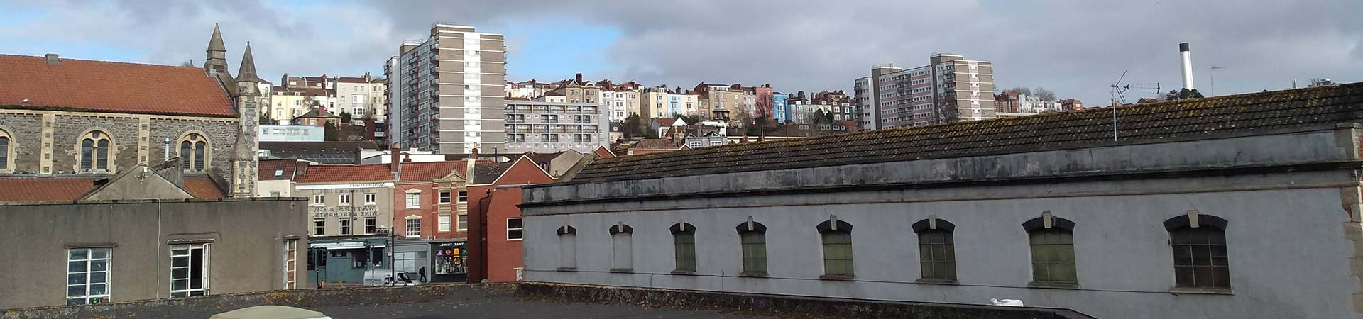 Homes on the roof