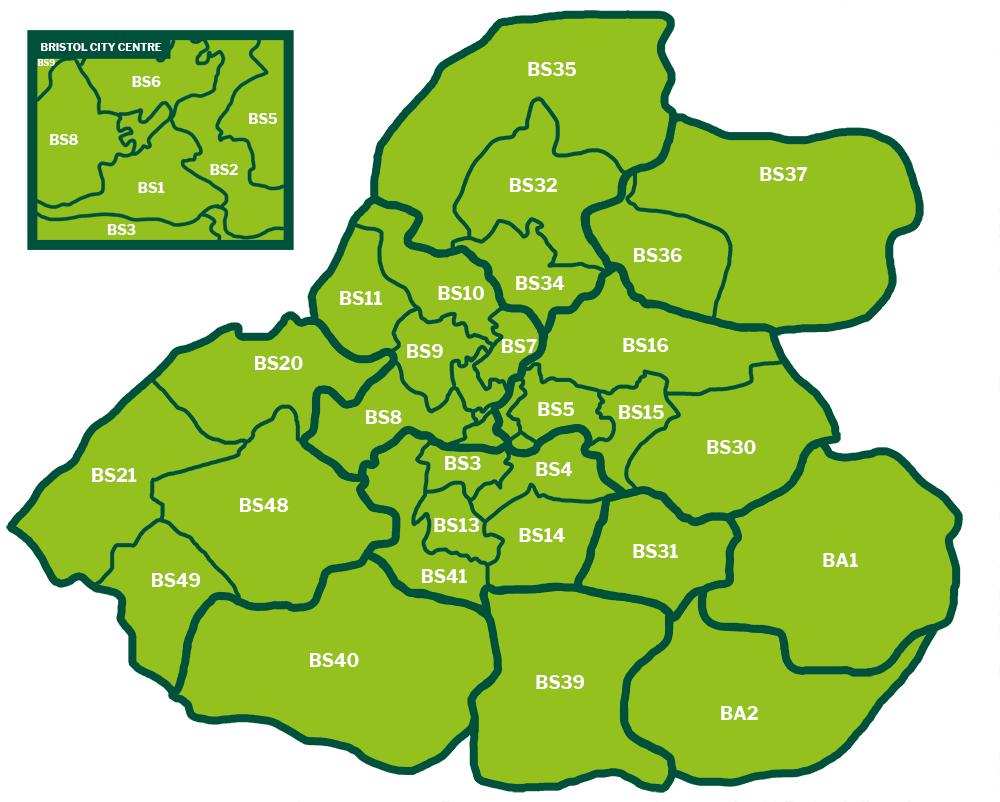 Bristol and Bath collection zones