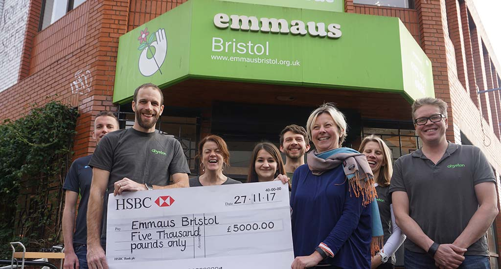 Donate to Emmaus Bristol by cheque
